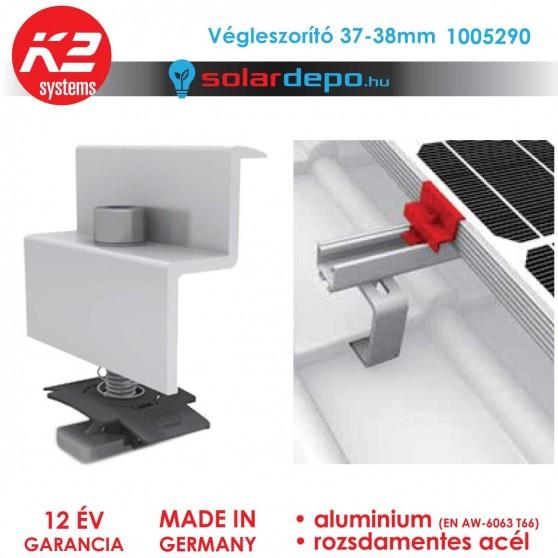 K2 Systems 1005290 Végleszorító szett 37-38mm
