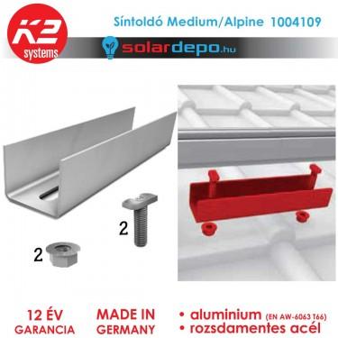 K2 Systems 1004109 síntoldó Medium/Alpine sínhez