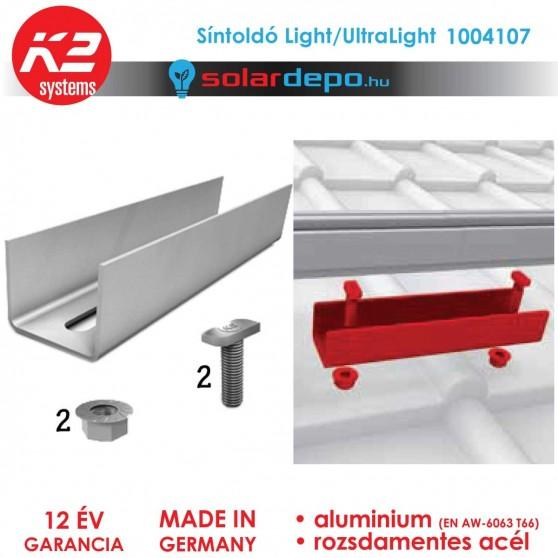 K2 Systems 1004107 síntoldó Light/UltraLight sínhez