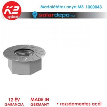 K2 Systems 1000043 Martalátétes anya M8