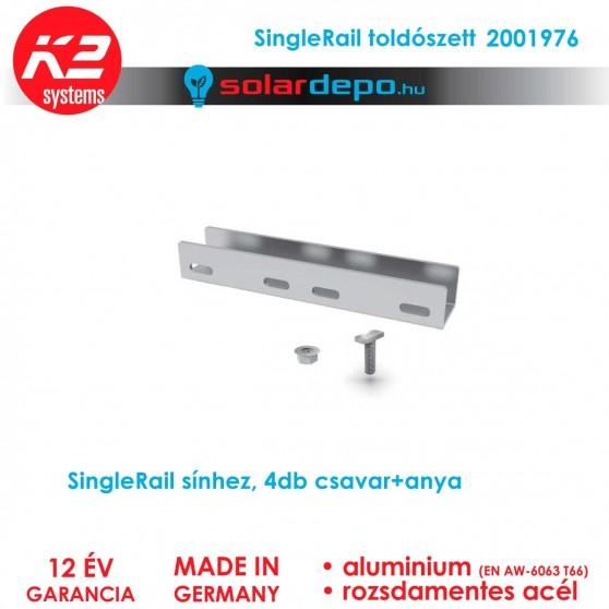 K2 Systems 2001976 SingleRail toldó szett