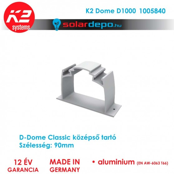 K2 Systems 1005840 Dome D1000