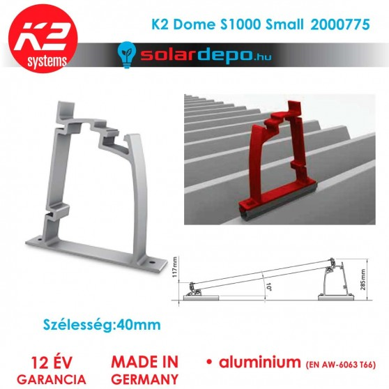 K2 Systems 2000775 Dome S1000 small