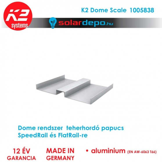 K2 Systems 1005838 Dome Scale