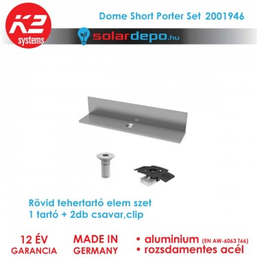 K2 Systems 2001946 Dome Short Porter Set