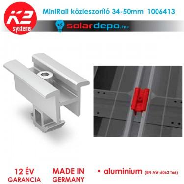 K2 Systems 1006413 MiniRail közbenső leszorító szett 34-50mm