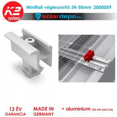 K2 Systems 2000059 MiniRail végleszorító szett 34-50mm