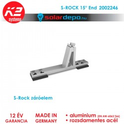 K2 Systems 2002246 S-Rock 15 End
