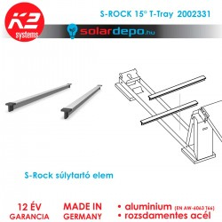 K2 Systems 2002331 S-Rock T-Tray