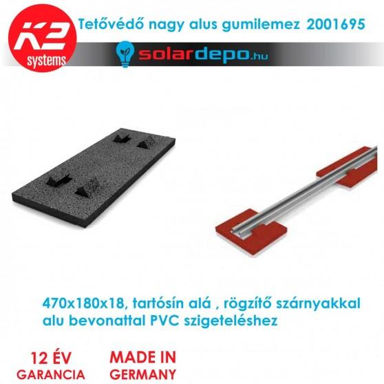 K2 Systems 2001695 Gumilemez nagy alus