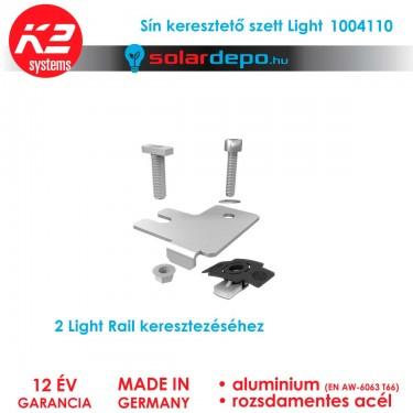 K2 Systems 1004110 Light Rail sínkeresztező elem