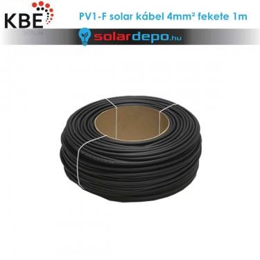 KBE Solar kábel DC 1x4mm² fekete