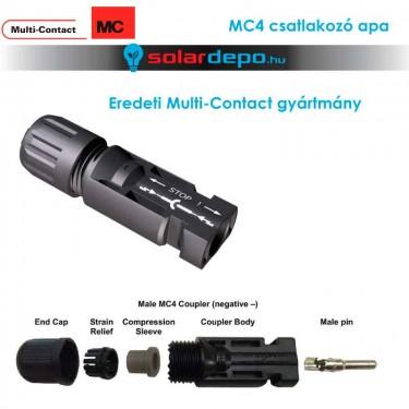 MultiContact MC4 csatlakozó apa