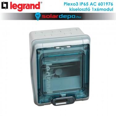 Legrand Plexo3 AC IP65 doboz 1x6 modulhoz