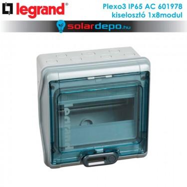 Legrand Plexo3 AC IP65 doboz 1x8 modulhoz