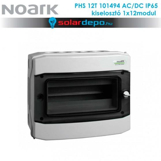 Noark PHS 12T AC/DC 1000V doboz 1x12 modul