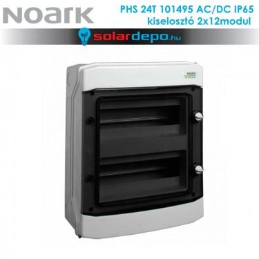 Noark PHS 12T AC/DC 1000V doboz 2x12 modul