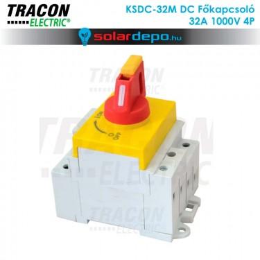 Tracon DC főkapocsoló 32A