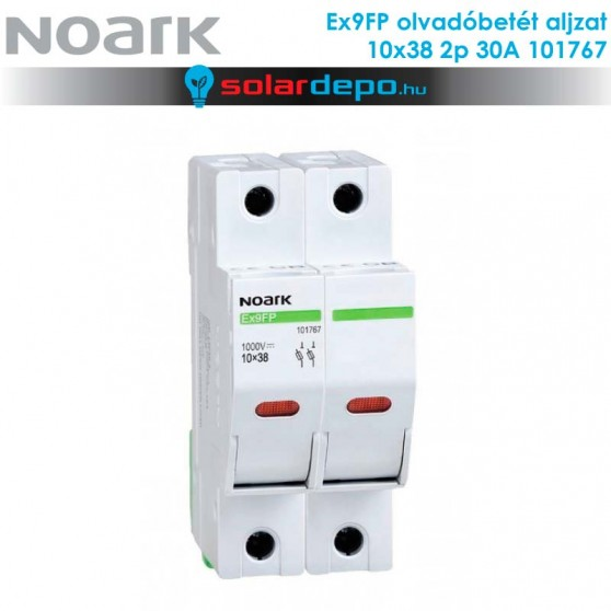 Noark EX9FP olvadóbiztosíték aljzat 2P 30A