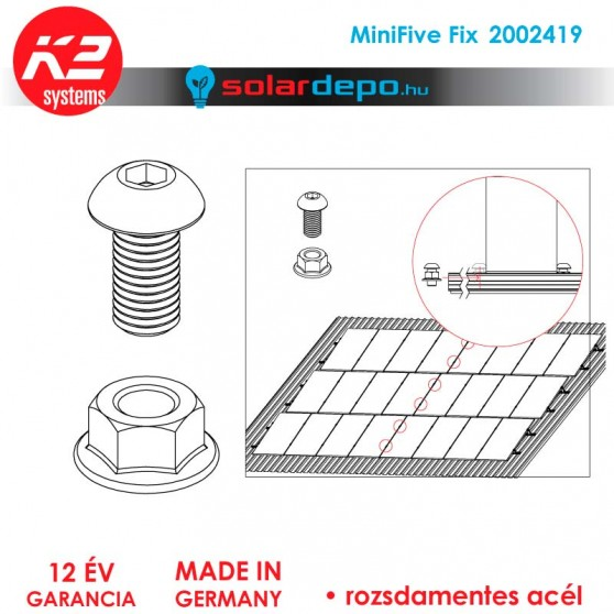 K2 Systems 2002419 Minifive Fix