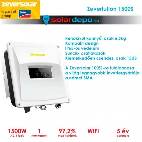 Zeversolar Zeverlution 1500S