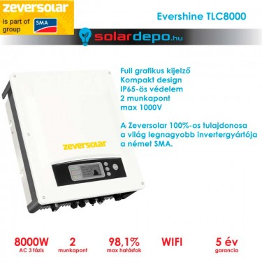 Zeversolar Evershine 8000TLC