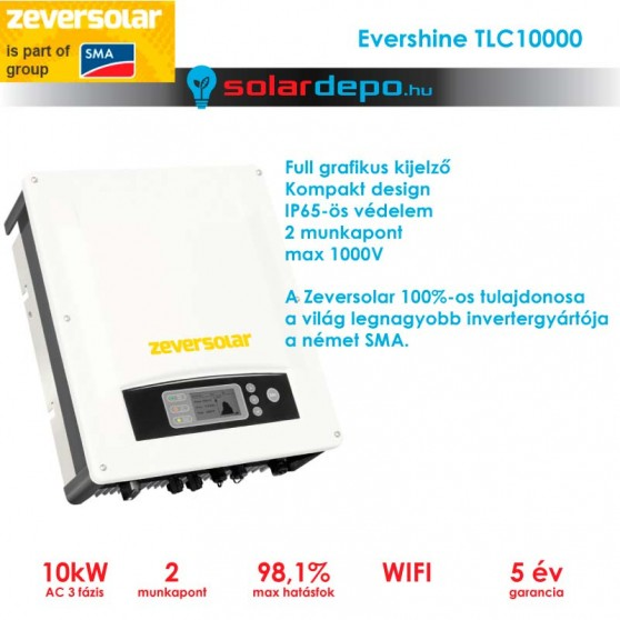Zeversolar Evershine 10000TLC