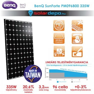 BenQ SunForte SF PM096B00 335W