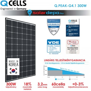 QCELLS QPEAK G4.1 300W