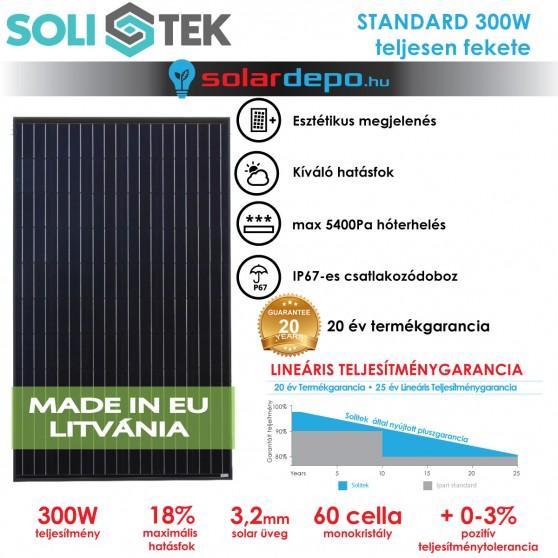 SOLITEK STANDARD 300W full-black