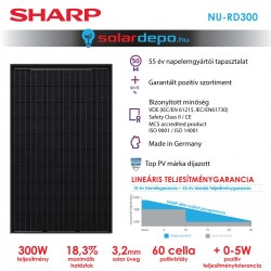 SHARP NU-RD 300W full black
