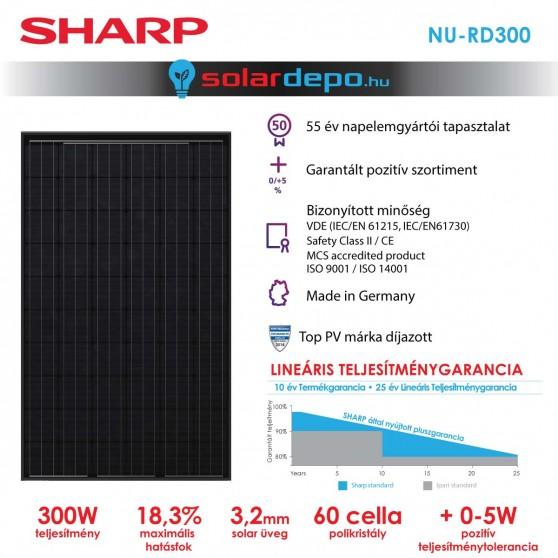 SHARP NU-RD 300W full black