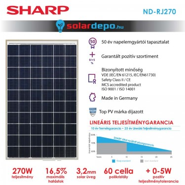 SHARP ND-RJ 270W