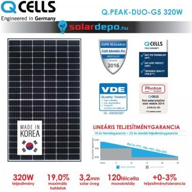 QCELLS QPEAK DUO G5 320W