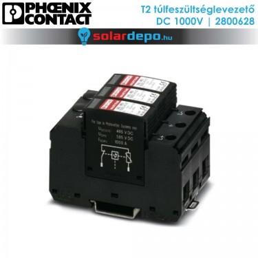 Phoenix Contact T2 típusú túlfeszültséglevezető 1000V