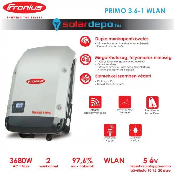 Fronius Primo 3.6-1 WLAN 2MPP