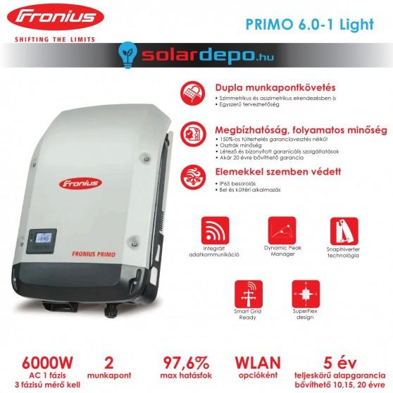 Fronius Primo 6.0-1 Light 2MPP