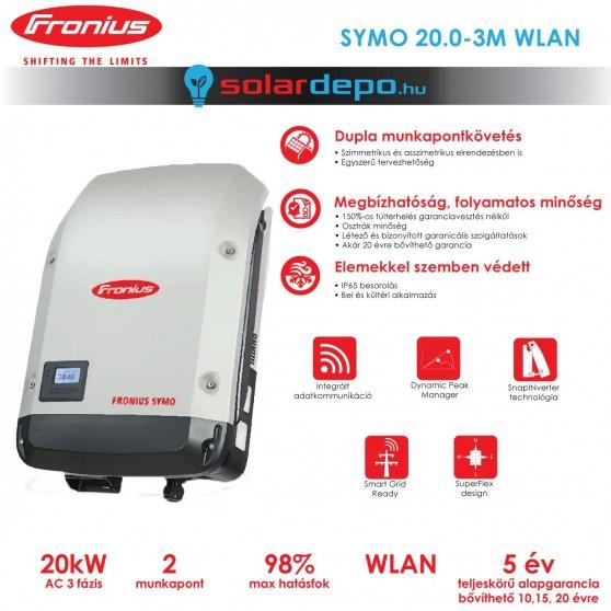 Fronius Symo 20.0-3-M WLAN 2MPP