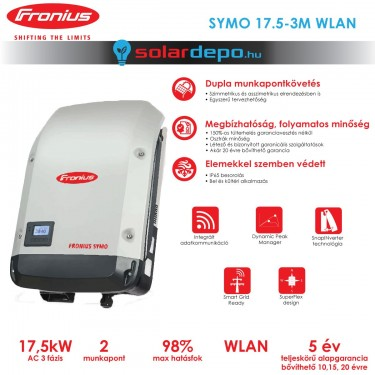 Fronius Symo 17.5-3-M WLAN 2MPP