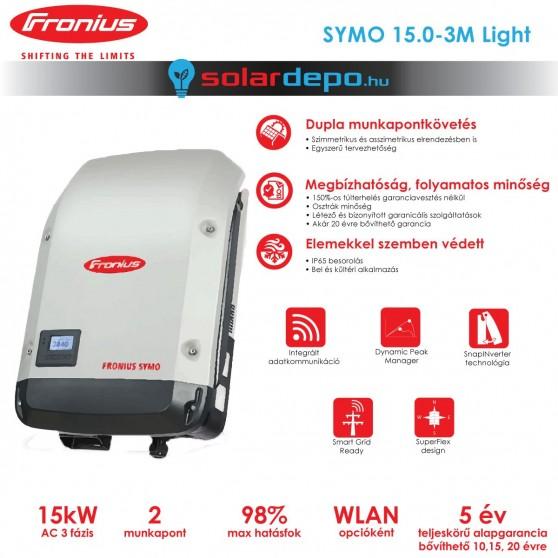 Fronius Symo 15.0-3-M Light 2MPP