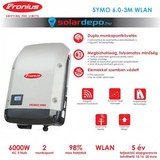 Fronius Symo 6.0-3-M WLAN 2MPP