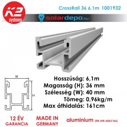 K2 Systems 1001932 CrossRail 36 6,1m