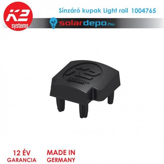 K2 Systems 1004765 Sínzáró kupak Light railhez