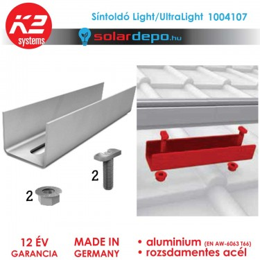 K2 Systems 1004107 síntoldó Light/UltraLight sínhez
