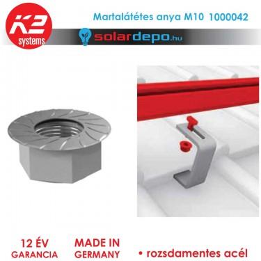K2 Systems 1000042 Martalátétes anya M10