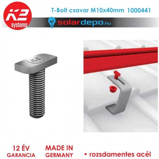K2 Systems 1000041 T-Bolt csavar M10x40mm