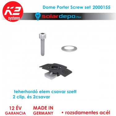 K2 Systems 2000155 Dome Porter csavar set