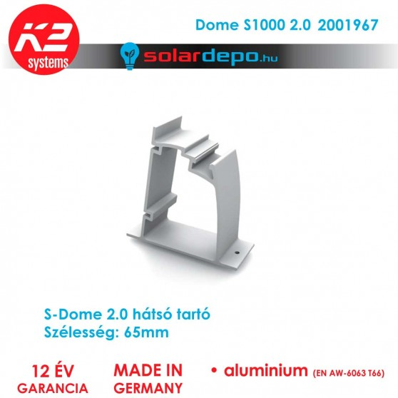 K2 Systems 2001967 Dome S1000 2.0