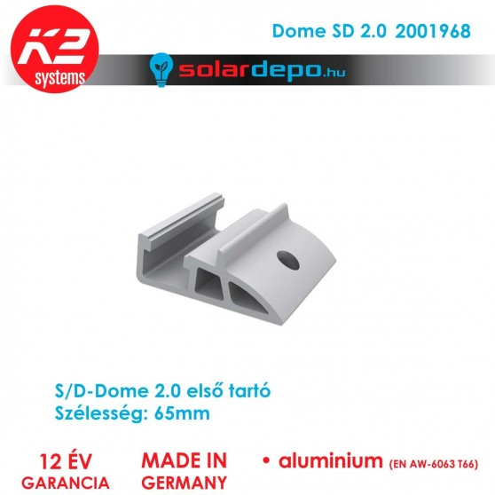 K2 Systems 2001968 Dome SD 2.0
