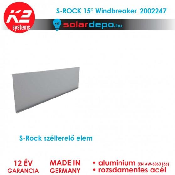 K2 Systems 2002247 S-Rock Windbreaker